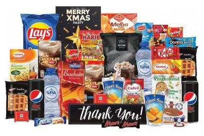 Kerstpakket Alle goede merken bij elkaar