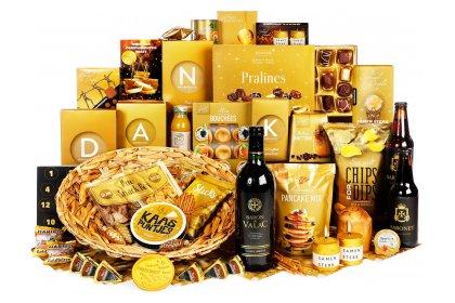 Kerstpakket Flonkerend goud voor jou