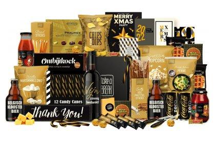 Kerstpakket Gold fun