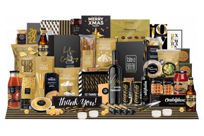 Kerstpakket Gouden touch
