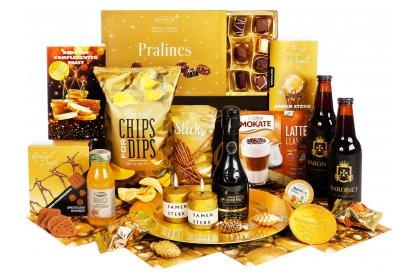 Kerstpakket Jij bent goud waard