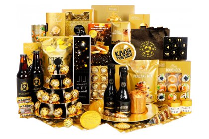 Kerstpakket Kanjers van goud
