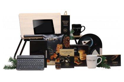 Kerstpakket Laptoptafel met toetsenbord