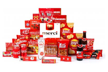 Kerstpakket Merci for everyone
