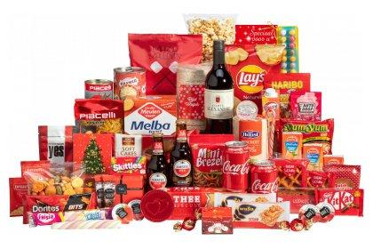 Kerstpakket Mooi rood volume
