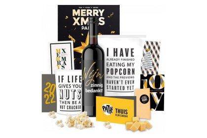 Kerstpakket Pathéen popcorn