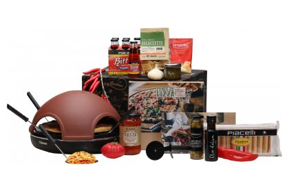 Kerstpakket Pizza party!