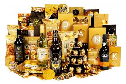 Kerstpakket Superieure gouden kwaliteit